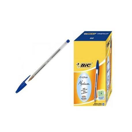 Penne a sfera BIC Cristal 5130 - 50 pezzi