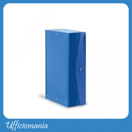 Cartella portaprogetti Dorso 12cm Blu