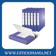 Portaprogetti con elastico Dorso 3cm Blu