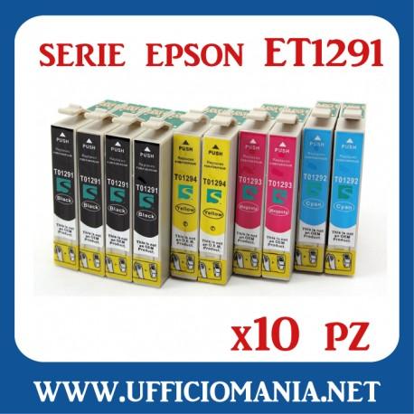 Cartuccia compatibile EPSON modello T1291 - NERO 390 pagine