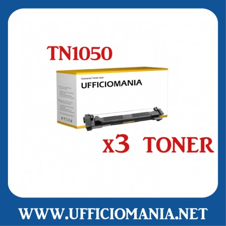 Toner compatibile BROTHER modello TN 1050 - Nero 1k