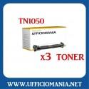 Nr 3 Toner compatibili BROTHER TN1050 Nero
