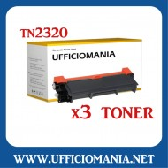 NR 3 Toner compatibili BROTHER TN2320 / TN2310 Nero