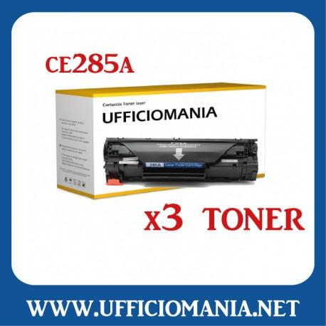 Toner compatibile HP modello CE285A - Nero 2k