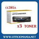 NR 3 Toner compatibili HP CE285A Nero