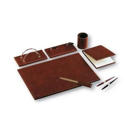 Set da scrivania linea coordinata 6 pezzi similpelle