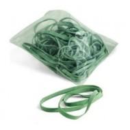 Elastici in gomma a fettuccia verde diam. 150mm kg 1