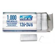Punti per cucitrice ELICA passo 6/4 - Confezione da 10.000 punti