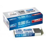Punti metallici per cucitrici passo 24/8 - Conf. 5.000 punti