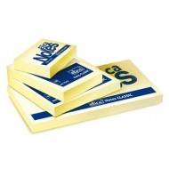 Notes adesivi (post it) 38x51mm 100 foglietti - 12 pezzi