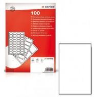 Etichette bianche 210x297mm F.to A4 Confezione 100 fogli