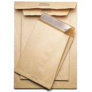 Buste avana a sacco internografate f.to 19x26cm 100gr - 250 pezzi
