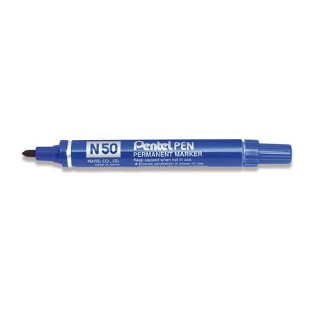 Pennarelli permanent punta conica PENTEL N50 - 12 pezzi