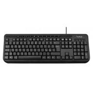 Tastiera multimediale PC interfaccia USB nera