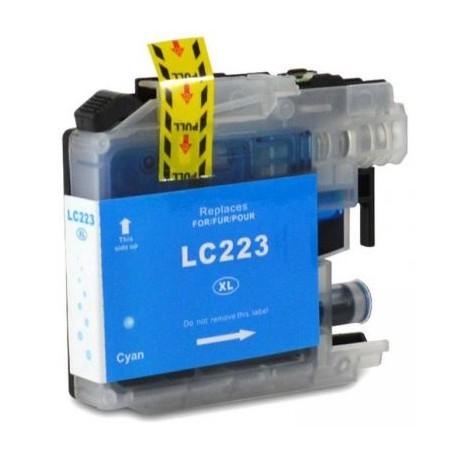 Cartuccia compatibile BROTHER modello LC223C - CIANO