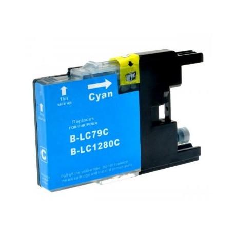 Cartuccia compatibile BROTHER modello LC1280C - CIANO