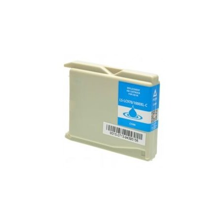 Cartuccia compatibile BROTHER modello LC1000C - CIANO