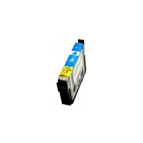 Cartuccia compatibile EPSON modello T0712 - CIANO