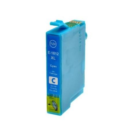 Cartuccia compatibile EPSON modello T1812 - CIANO